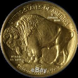 2008-W Buffalo Gold $5.9999 Fine ANACS SP69 First Strike Label