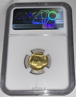 2008 W G$5 American Buffalo Gold Burnished 1/10 oz. 9999 Fine NGC MS70 SP