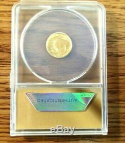 2008-W GOLD BUFFALO $5.9999 FINE 1/10th OZ FIRST STRIKE COIN ANACS SP 69