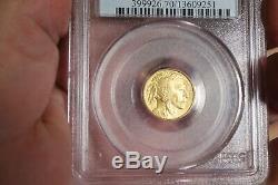 2008-W MS70 $5 1/10 oz Gold American Buffalo 1/10 ounce. 99999 Fine GoldPCGS