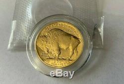 2009 1OZ US Gold American Buffalo Coin $50.9999 Fine Gold Bullion