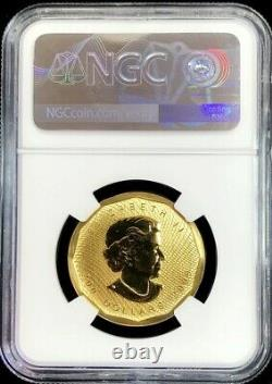 2009 Gold Canada $200 Dollar Maple Leaf 1 Oz. 99999 Fine Coin Ngc Mint State 68