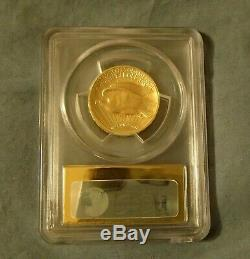 2009 Ultra High Relief Double Eagle. 9999 Fine Gold Coin 24K PCGS MS70