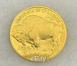 2010 GOLD Bullion Buffalo $50.9999 Fine GOLD 1. OZ Beautiful Coin! B102