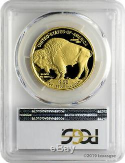 2010-W $50 American Buffalo. 9999 Fine Gold PCGS PR70DCAM