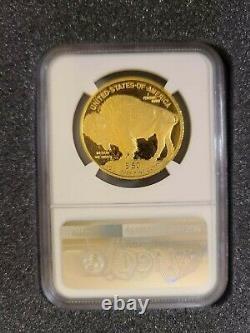 2011 W Gold Buffalo $50 PF70 Ultra Cameo. 9999 Fine M Castle Signed. Below FMV