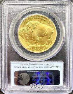 2012 G$50 Gold American Buffalo 24KT. 9999 Fine MS70 PCGS FIRST STRIKE COIN