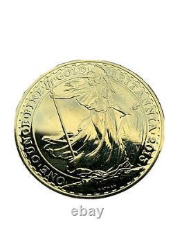 2013 1 oz BRITANNIA 999.9 24 CT FINE GOLD COIN