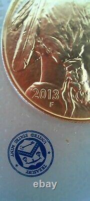 2013 American Buffalo 1oz 9999 Fine Gold coin in original sealed us mint wrap