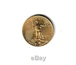 2014 AMERICAN GOLD EAGLE 1/10 oz. 917% FINE GOLD BU GREAT COLLECTOR COIN