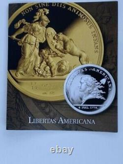 2014 Gold Libertas Americana Re-Issue PF70 Ultra Cam High Res. 999 Fine 1oz