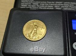 2015 American Quarter Ounce $10 Fine Gold Eagle Coin 1/4 oz Liberty USA