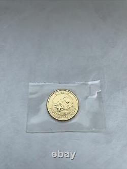 2015 Canada 1/4 oz GOLD Coin. 9999 Fine $10 Polar Bear & Cub Coin (BU)