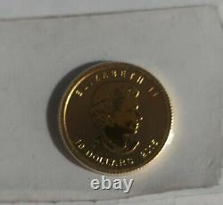 2015 Canada Polar Bear with Cub 1/4 ounce gold. 9999 fine gold coin