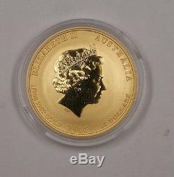 2016 Australia Perth Mint $50 Dollar UNC Monkey Gold Coin 1/2 Oz. 999 Fine