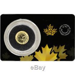 2016 Canada Gold Cougar $20 1/10 oz BU in Sealed Assay. 99999 Fine