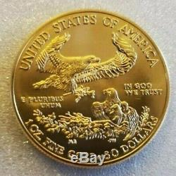 2016 US Gold Eagle Coin 1 oz fine Gold