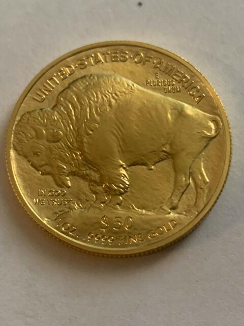 2017 $50 American Gold Buffalo 1 Oz. 9999 Fine Gold Brilliant Uncirculated