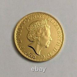 2017 British Britannia 1 Oz. 9999 Fine Gold 100 Pound Coin
