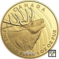 2017'Elk' Proof $200 Gold Coin 1oz. 99999 Fine (18010) (NT)