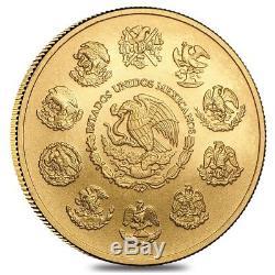 2018 1 oz Mexican Gold Libertad Coin. 999 Fine BU