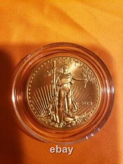 2018 American Eagle 1 oz fine gold 50 dollars uncirculated