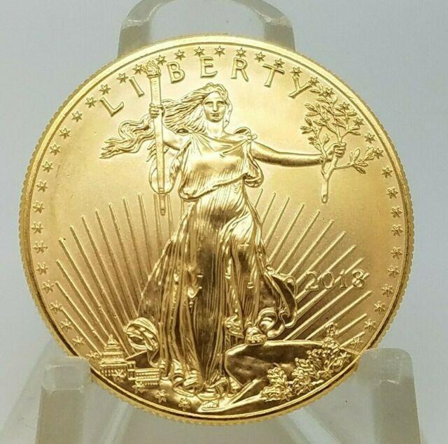 2018 American Liberty 1 Oz $50 Fine Gold American Eagle