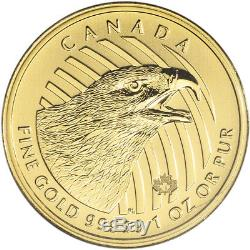 2018 Canada Gold Eagle $200 1 oz BU in Sealed Assay. 99999 Fine