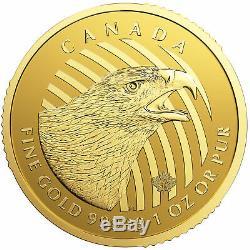 2018 Canadian 1oz Gold Golden Eagle. 99999 Fine in Assay BU