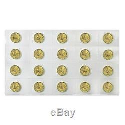 2019 1/4 oz Canadian Gold Maple Leaf $10 Coin. 9999 Fine BU (Sealed)