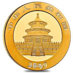 2019 1 gram Chinese Gold Panda 10 Yuan. 999 Fine BU (Sealed)