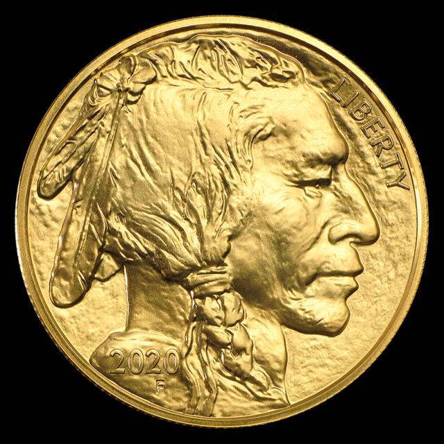 2020 1 Oz Gold American Buffalo $50 Coin Bu. 9999 Fine