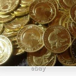 2020 Gold Prospector 1/10 oz 24KT. 9999 Fine BU Coin In Capsule