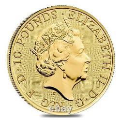 2020 Great Britain 1/10 oz Gold Royal Arms Coin. 9999 Fine BU