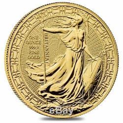 2020 Great Britain 1 oz Gold Britannia Oriental Border Coin. 9999 Fine BU