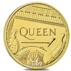 2020 Great Britain 1 oz Gold Music Legends Queen Coin. 9999 Fine BU