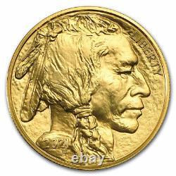 2021 1 oz American Gold Buffalo $50 Coin BU. 9999 Fine