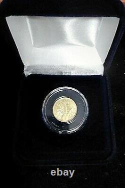 2021 Austrian 1/10 Gold Philharmonic BU Coin 1/10 oz. Fine Gold. 9999