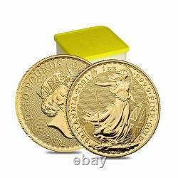 2021 Great Britain 1 oz Gold Britannia Coin. 9999 Fine BU