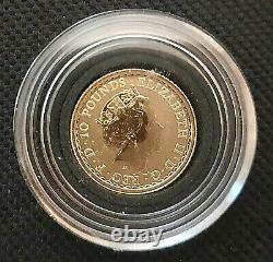 2021 Great Britain Gold Britannia 1/10th oz £10 Coin GEM BU. 9999 Fine Gold