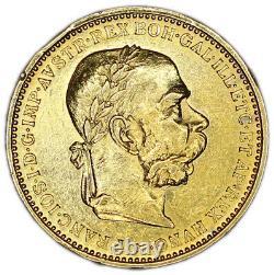 AUSTRIA coin 20 Corona 1894 XF+ Choice Extremely Fine