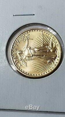 American Eagle Ten Dollar Coin, Gold Eagle, $10, Fineness. 9167, KM#217