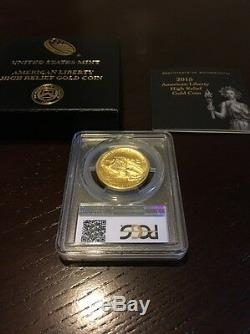 American Liberty 2015 W High Relief Gold Coin PCGS MS69 MS 69 Fine Gold