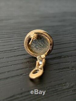Bvlgari Bulgari Monete Ancient Coin 18k Gold Earrings