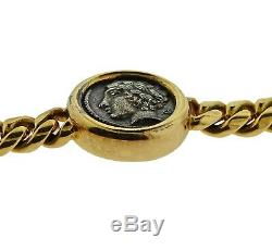 Bvlgari Bulgari Monete Ancient Coin Gold Bracelet