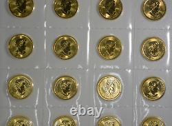 Canada 1/10 oz Gold 2018 Polar Bear. 9999 Fine SEALED in Original Mint Plastic