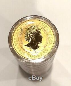 Discount- 5 -1 Oz 9999 Fine Gold 2020 Australian Kangaroo $100 Coins, Other Gold