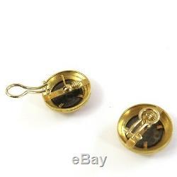 Elizabeth Locke 18K Gold Ancient Coin Earrings