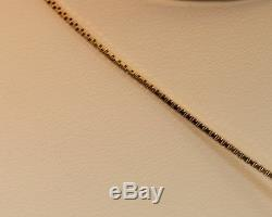 Estate 14K Yellow Gold Ruby & Roman Coin Necklace Pendent