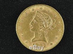 Fine 1882 Liberty Us $10 Gold Coin Rare Date
